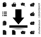 download  arrow icon. simple...
