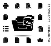refresh folder icon. simple...
