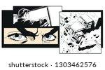 stock illustration. truck... | Shutterstock .eps vector #1303462576