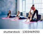 Good Looking Yoga Instructor...