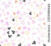 light pink  yellow vector... | Shutterstock .eps vector #1303486666