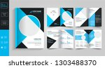 8 pages creative  business... | Shutterstock .eps vector #1303488370