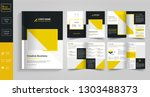 8 pages creative  business... | Shutterstock .eps vector #1303488373