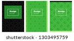 light green vector template for ...