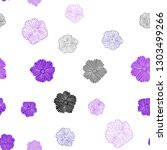 dark purple vector seamless... | Shutterstock .eps vector #1303499266