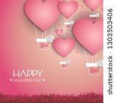 vector illustration.valentine's ...   Shutterstock .eps vector #1303503406