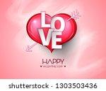 vector illustration.valentine's ...   Shutterstock .eps vector #1303503436