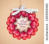 vector illustration.valentine's ...   Shutterstock .eps vector #1303503460