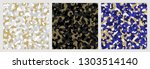 abstract seamless pattern. set... | Shutterstock .eps vector #1303514140