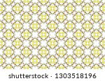 colorful seamless ornament for... | Shutterstock . vector #1303518196