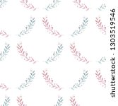 seamless pattern with... | Shutterstock . vector #1303519546