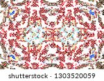 mosaic colorful pattern for... | Shutterstock . vector #1303520059