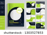 16 pages  education brochure... | Shutterstock .eps vector #1303527853