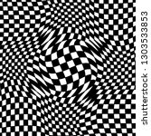 abstract black and white... | Shutterstock .eps vector #1303533853