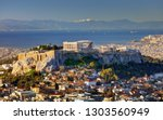 Aerial View Over Athens With T...