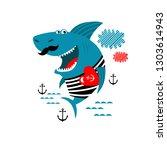 vector illustration of cartoon... | Shutterstock .eps vector #1303614943