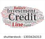 vector conceptual credit card... | Shutterstock .eps vector #1303626313