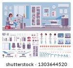 female doctor in general...   Shutterstock .eps vector #1303644520