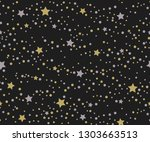 festive background with gold... | Shutterstock . vector #1303663513