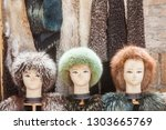 color image of some mannequin... | Shutterstock . vector #1303665769