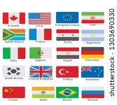 european american asia country... | Shutterstock .eps vector #1303690330
