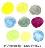watercolors on paper | Shutterstock . vector #1303694623