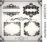 design set of elements | Shutterstock .eps vector #130372373
