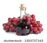 Glass Jug With Wine Vinegar An...