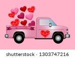 valentine romantic love   Shutterstock . vector #1303747216