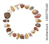 circle of earth healing stones  ... | Shutterstock . vector #1303770160
