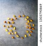 orange fruit variety. fruit... | Shutterstock . vector #1303790869