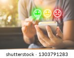 customer service experience and ... | Shutterstock . vector #1303791283