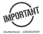 important black round stamp | Shutterstock .eps vector #1303810549