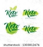 keto friendly diet nutrition... | Shutterstock .eps vector #1303812676