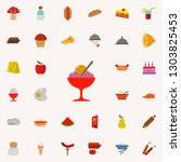 ice cream in cup icon.... | Shutterstock . vector #1303825453