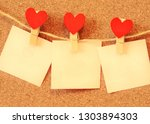 Red Hearts Hung With...