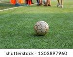 children's football training...   Shutterstock . vector #1303897960