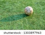 children's football training...   Shutterstock . vector #1303897963