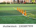 children's football training...   Shutterstock . vector #1303897999