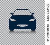the car silhouette. automotive... | Shutterstock .eps vector #1303932403