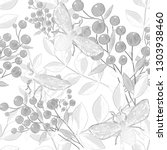 creative seamless pattern with...   Shutterstock . vector #1303938460