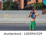 caracas  miranda venezuela  ... | Shutterstock . vector #1303941529