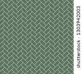 subway tile seamless pattern  ... | Shutterstock .eps vector #1303942003
