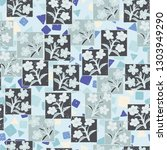seamless pattern made up of...   Shutterstock .eps vector #1303949290