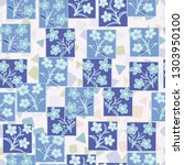 seamless pattern made up of...   Shutterstock .eps vector #1303950100