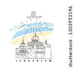 Jerusalem Vector Illustration...