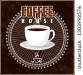 coffee theme illustration. all... | Shutterstock .eps vector #1303993576
