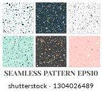 terrazzo flooring vector... | Shutterstock .eps vector #1304026489