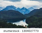 view to the alpes  from the... | Shutterstock . vector #1304027773