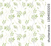 watercolor seamless pattern... | Shutterstock . vector #1304033203